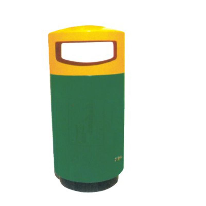 玻璃钢垃圾桶TW-7011