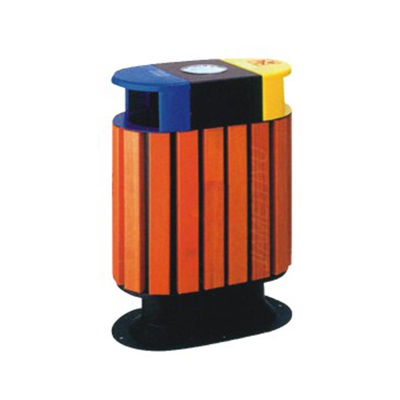 塑木垃圾桶TW-7010
