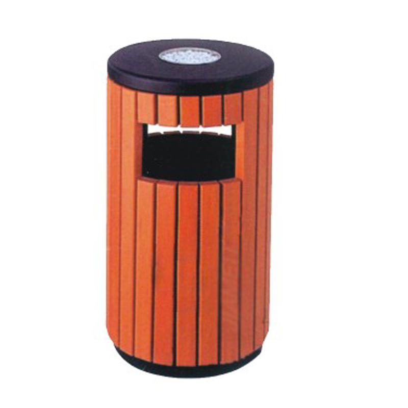 塑木垃圾桶TW-7008