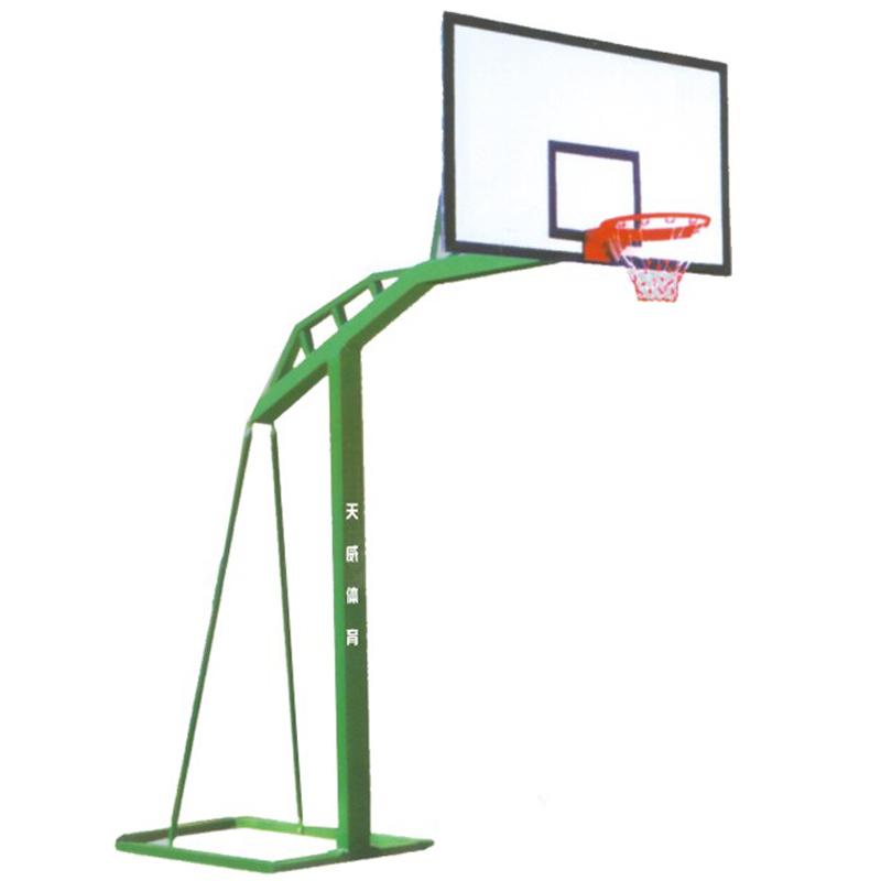 单臂篮球架(槽钢底座