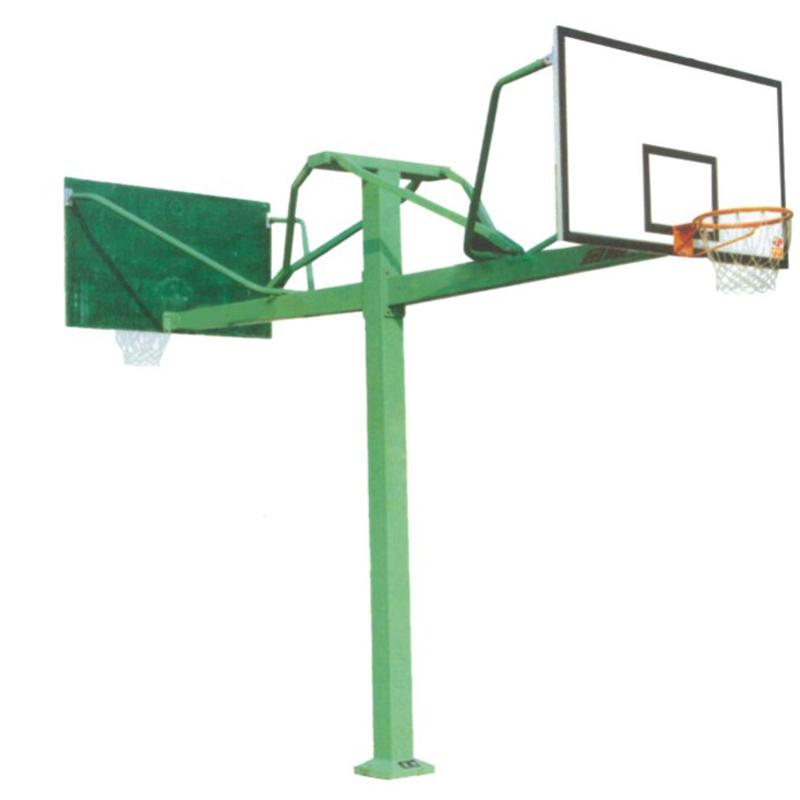 海燕式固定单臂篮球架