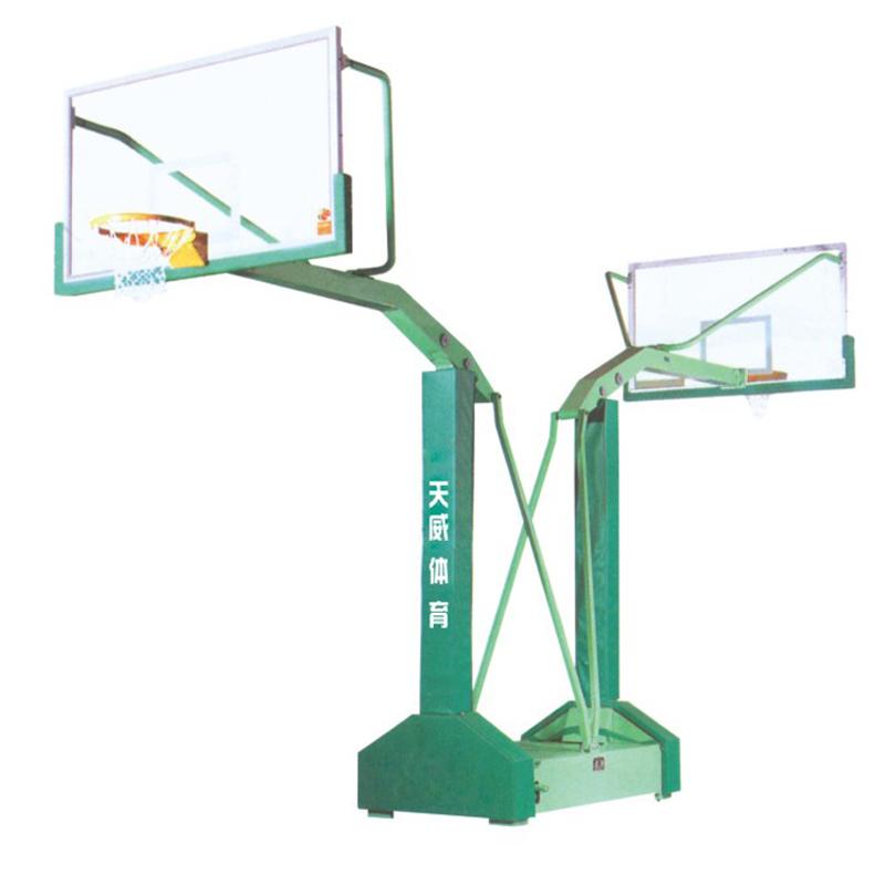 海燕式移动篮球架凹箱