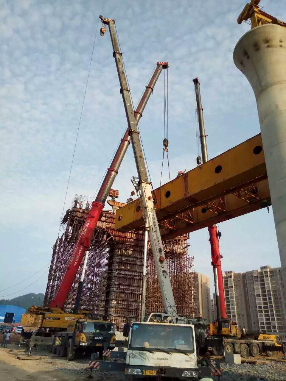 长沙100吨吊车出租