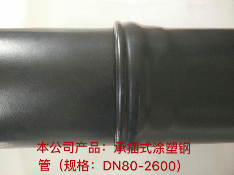 承插式涂塑钢管