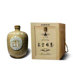定做茅台酒礼盒木质白酒盒实木白酒外包装盒5斤坛子木盒