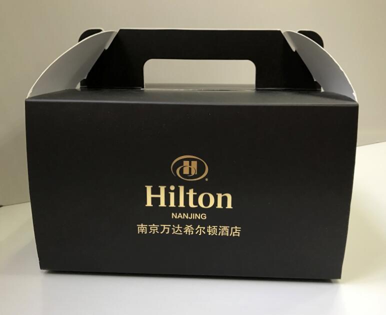 希尔顿2磅蛋糕盒