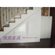 倾斜柜定制 楼梯倾斜柜 合理利用空间