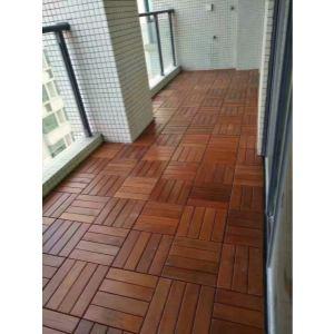 实木地板铺装工艺_大连户外木地板铺装