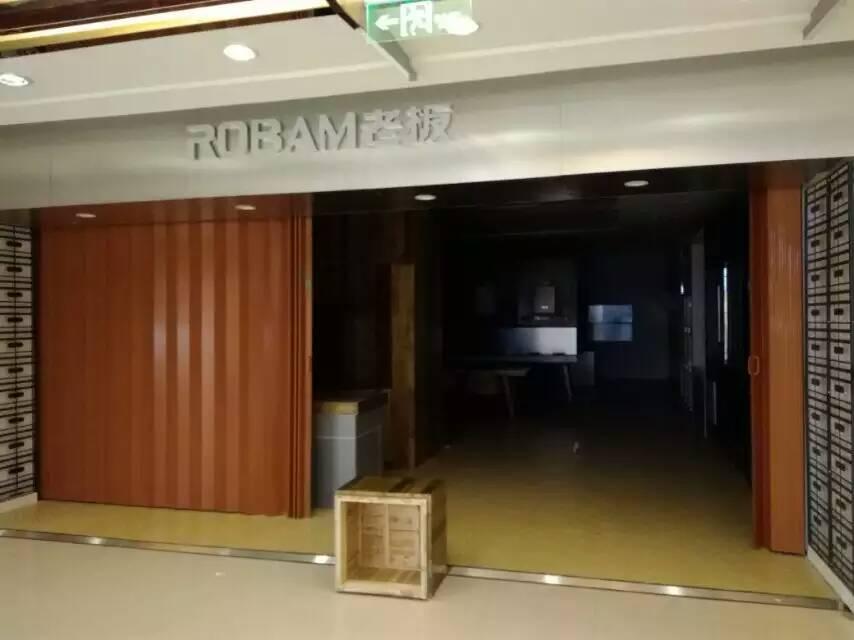 青岛室内pvc折叠门