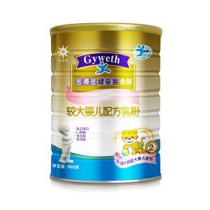 健婴智金装较大婴儿配方乳粉
