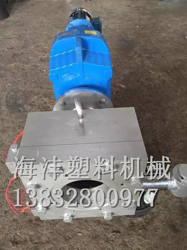 塑料自动排渣机头