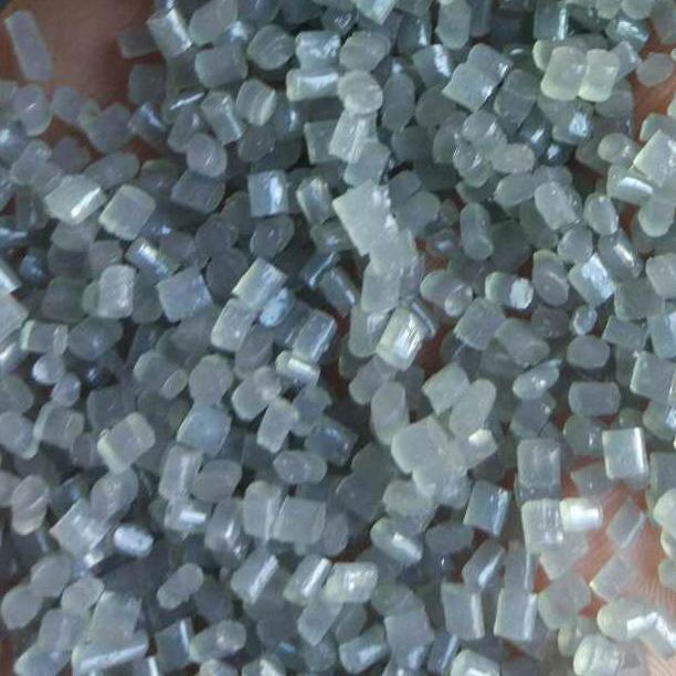 灰色塑料颗粒