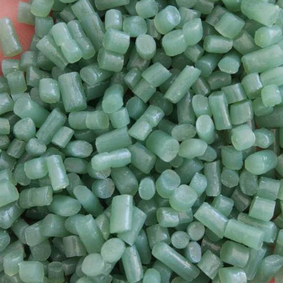绿色塑料颗粒