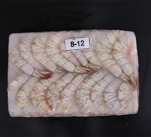 明虾去头 White shrimp headless