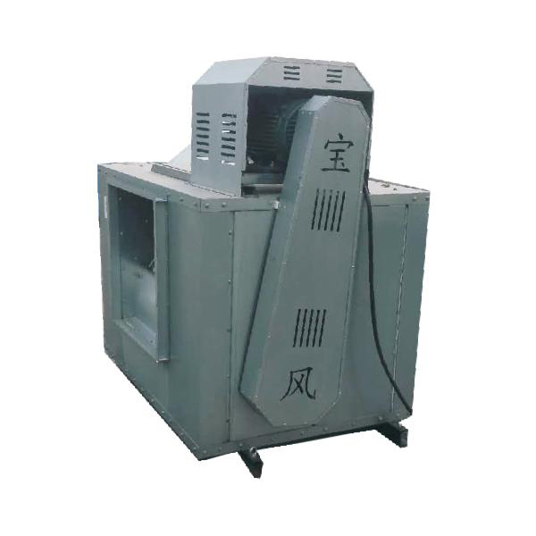 Low noise double inlet air cabinet