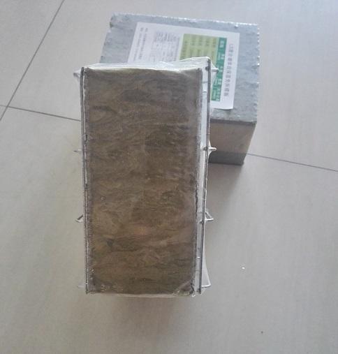 金属网岩棉板现浇注混