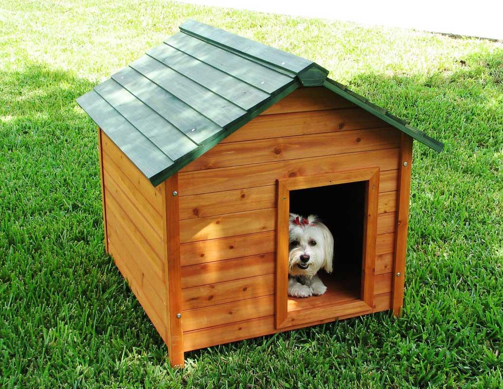 简易大型狗屋制作图解