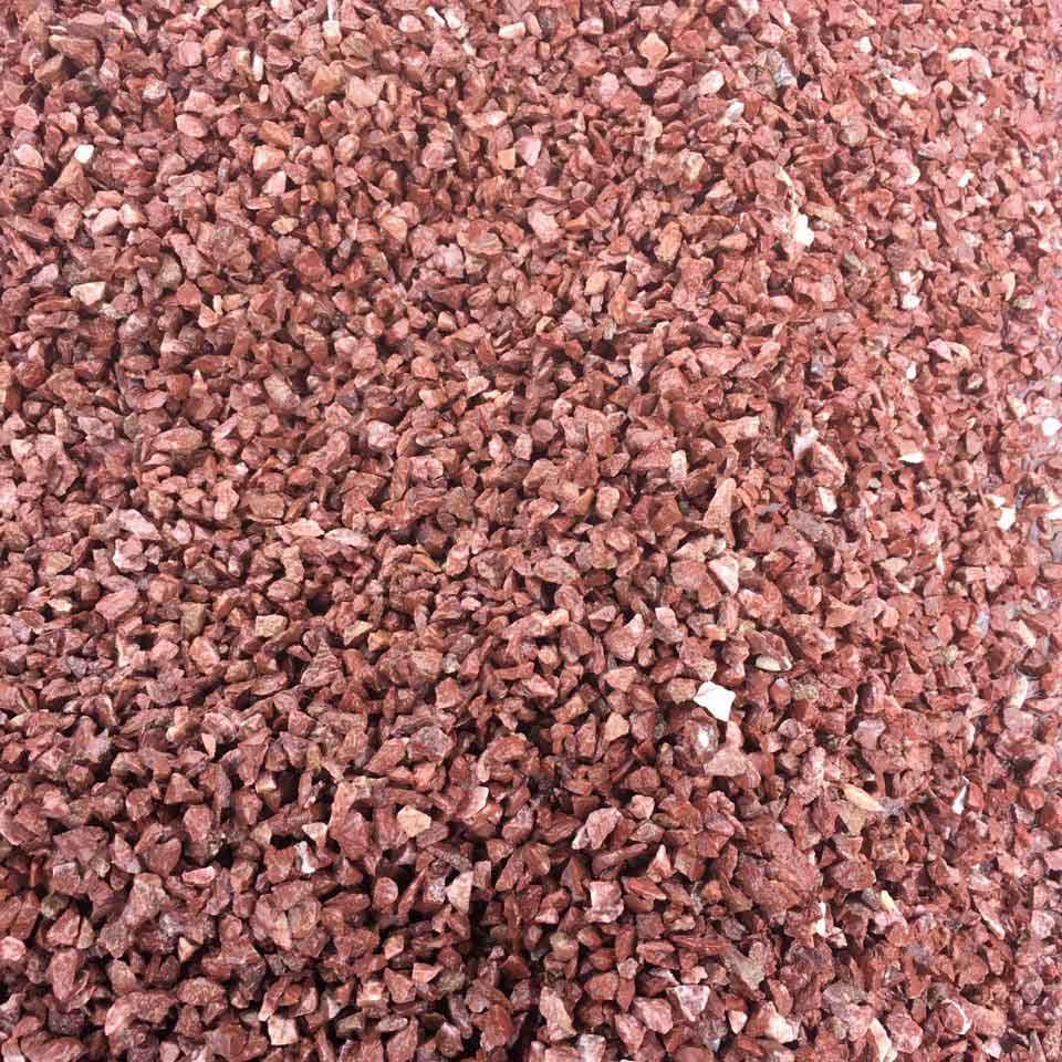 河北鸡血红彩砂厂|石