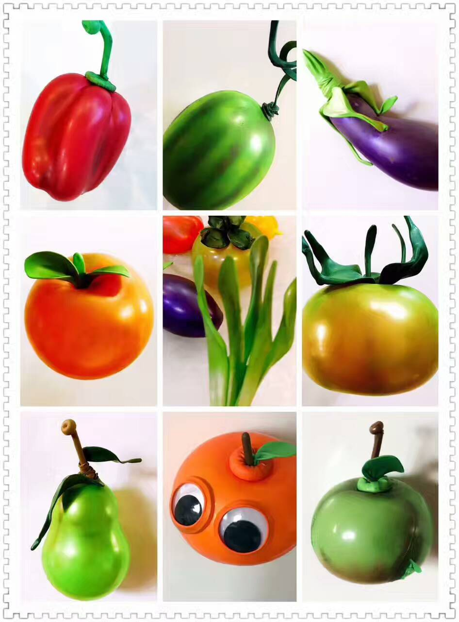水果蔬菜气球