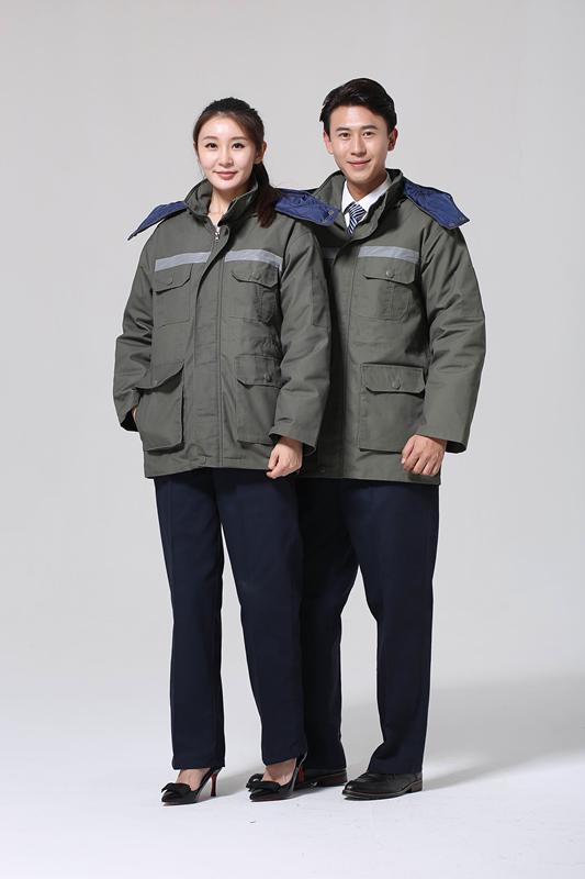2017新款棉服工装