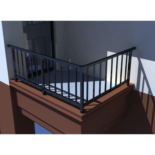 锌钢空调栏杆04