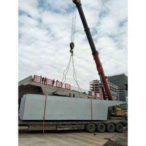路桥跨线钢结构桥梁--180吨汽车吊吊装