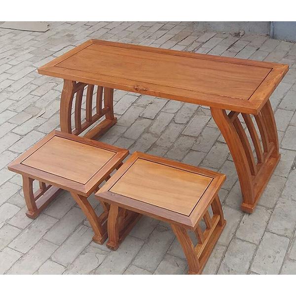 马鞍桌国学桌