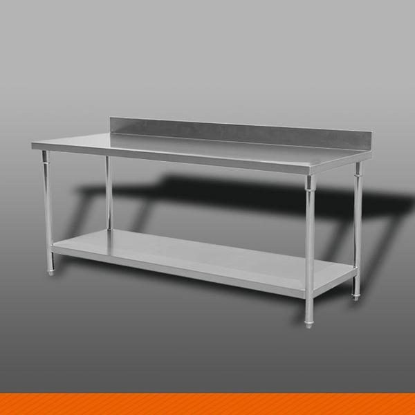 双层平板工作台带背(