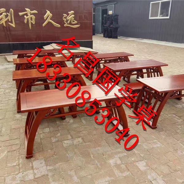 河北国学课桌厂家