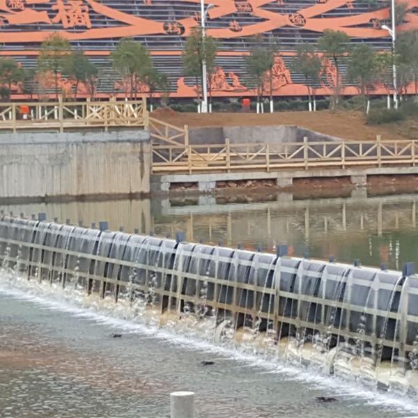 钢坝闸门宽66米高2.5