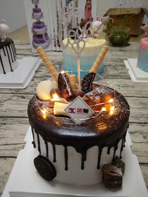 学员生日蛋糕