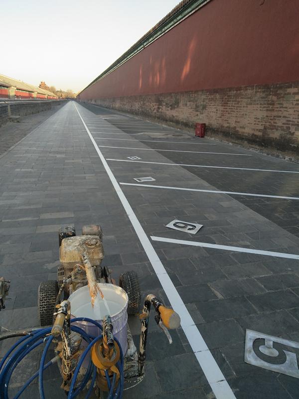 工程案例|故宮停車位