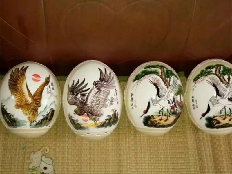 鸵鸟蛋雕刻