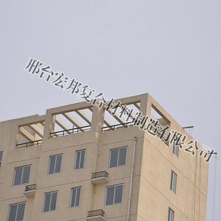 玻璃钢楼顶飘架