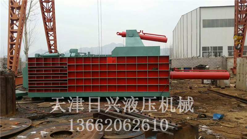 大型液压金属压块机