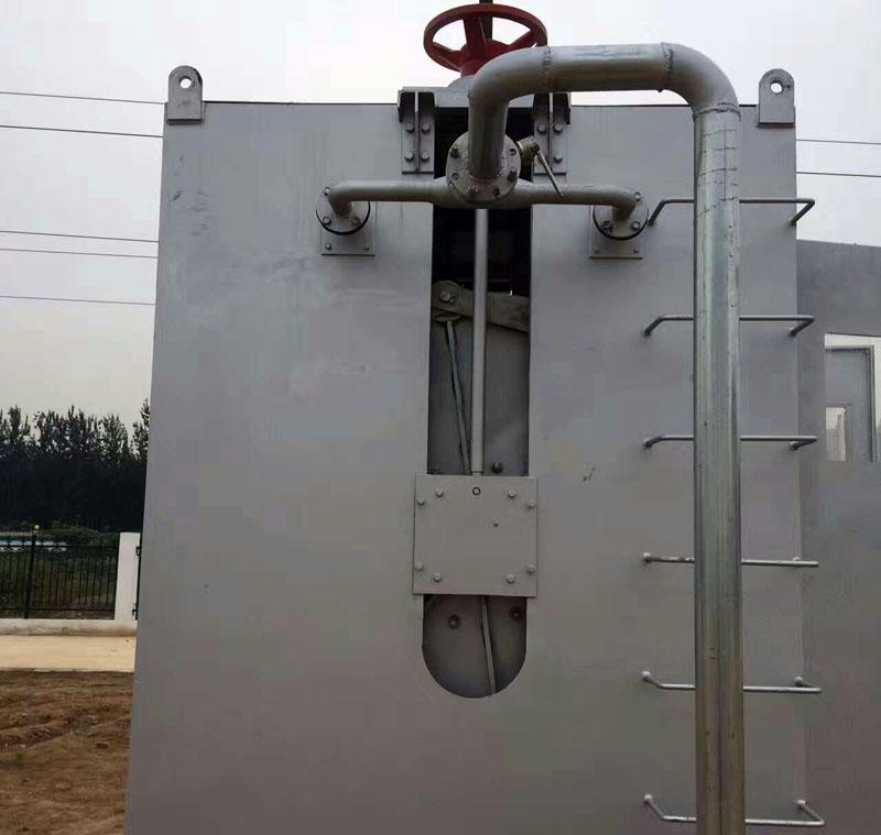 液压钢坝闸门