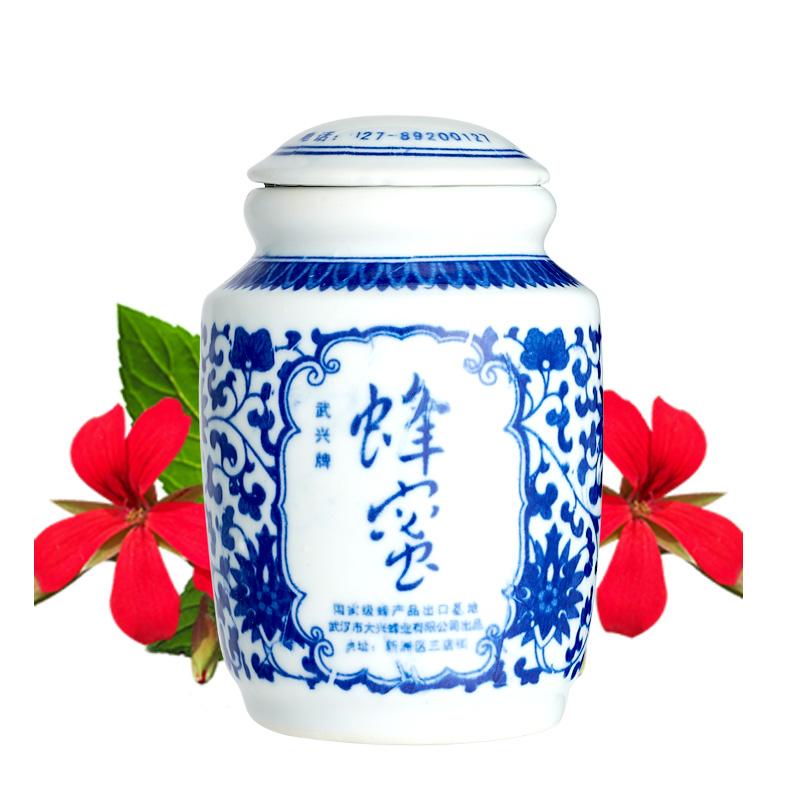 500g青花瓷装蜂蜜