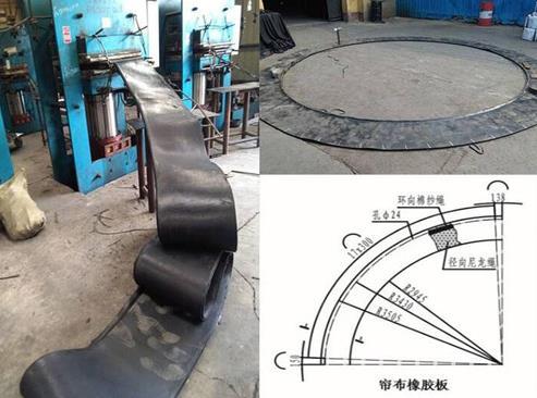 橡胶帘布地铁盾构管