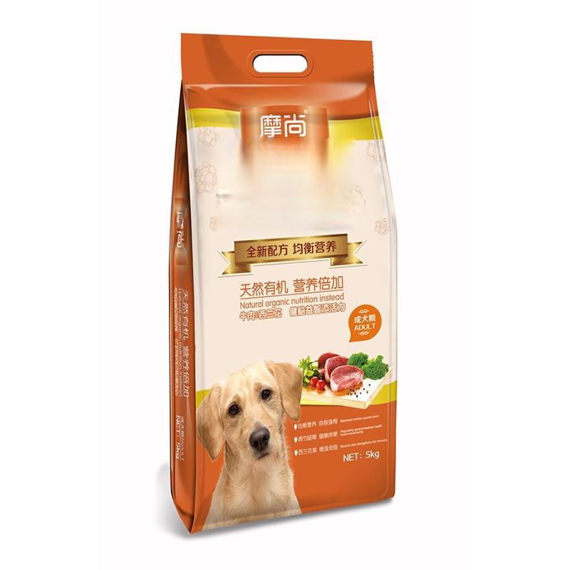 摩尚成犬粮5kg