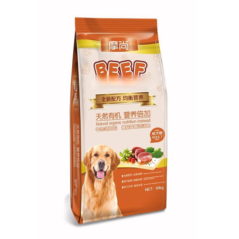 摩尚成犬粮10kg