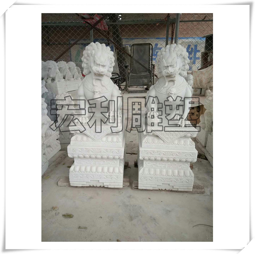石材雕刻狮子