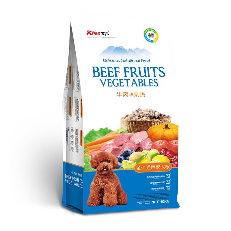 牛肉果蔬全价通用成犬
