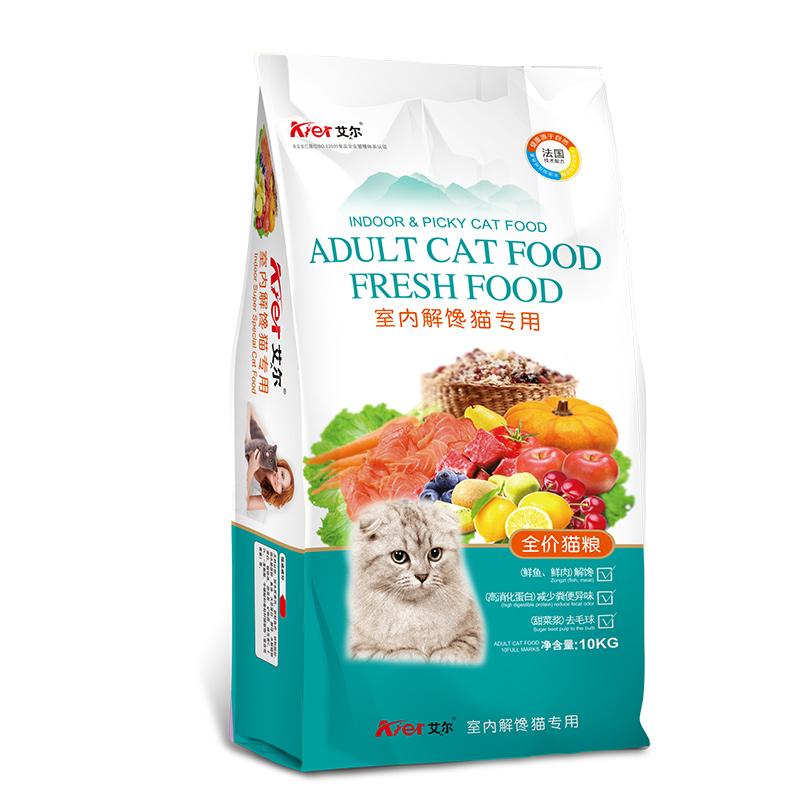 室内解馋猫粮10kg
