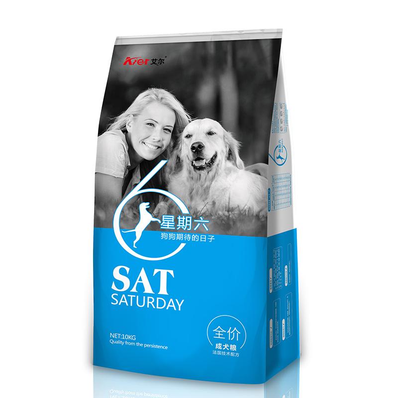 星期六全价成犬粮10kg