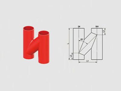 W1型H管