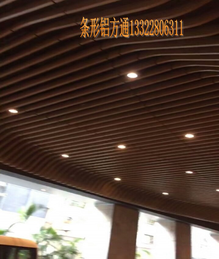 铝单板广州价格弧形造