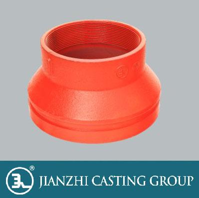 沟槽式管件-螺纹异径