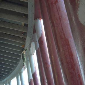 AL901-X冷却塔专用耐酸防水瓷釉涂料 电厂冷却塔防腐涂料华能电厂冷却塔防腐漆