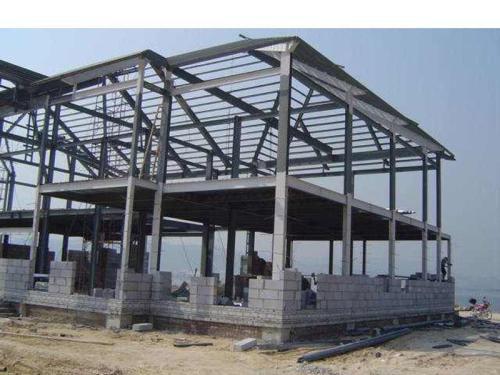 青岛钢结构二层|青岛钢结构吊铺|