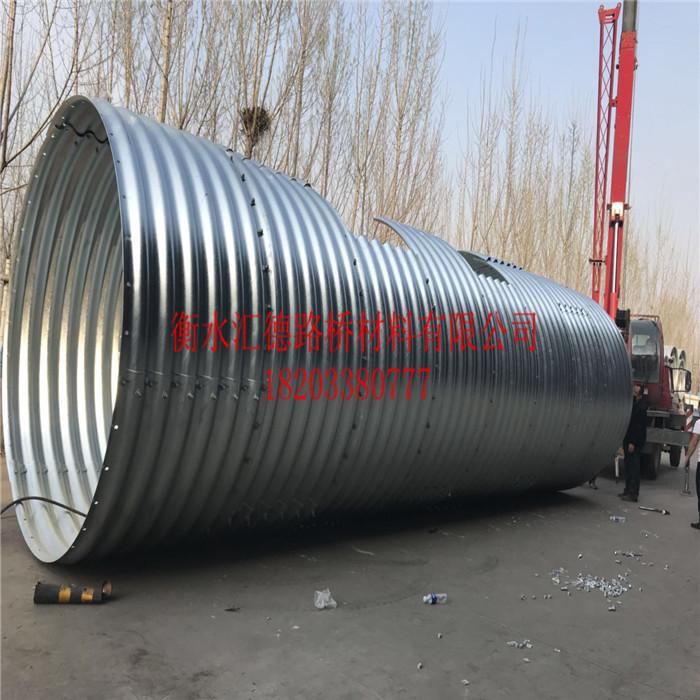 镀锌钢制金属波纹管厂